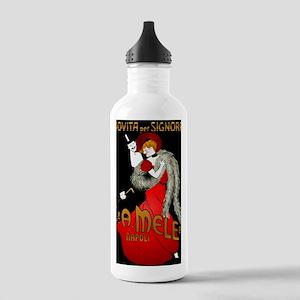LadyRedBlack Stainless Water Bottle 1.0L
