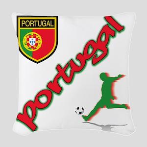 2-portugal Woven Throw Pillow