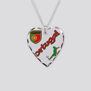 2-portugal Necklace Heart Charm