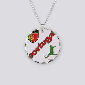 2-portugal Necklace Circle Charm