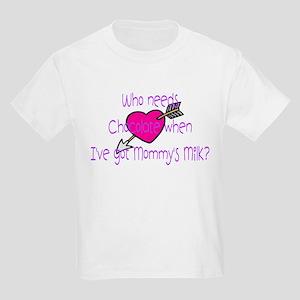 Girl Who needs Chocolate? Kids T-Shirt