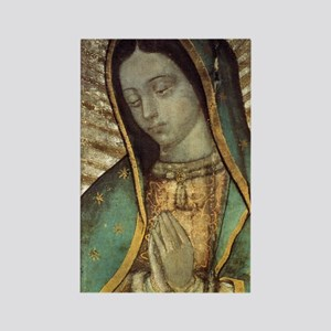 Our Lady of Guadalupe - Large Pos Rectangle Magnet