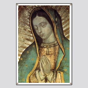 Our Lady of Guadalupe - Large Poster Banner