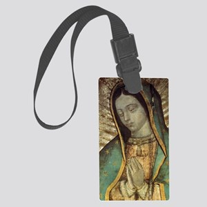 Our Lady of Guadalupe - Large Po Large Luggage Tag