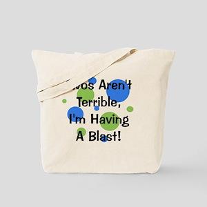 circles_twosarentterrible Tote Bag