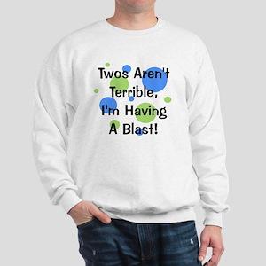 circles_twosarentterrible Sweatshirt