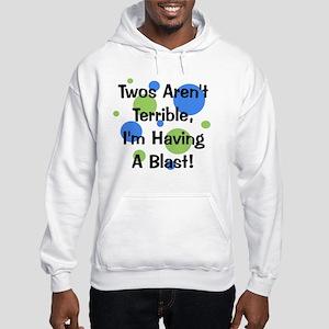 circles_twosarentterrible Hooded Sweatshirt
