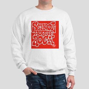 2-SHR_REVERSE_red_button Sweatshirt