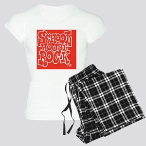 2-SHR_REVERSE_red_button Women's Light Pajamas