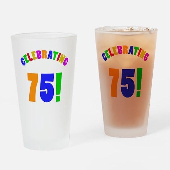 Rainbow 75 Drinking Glass