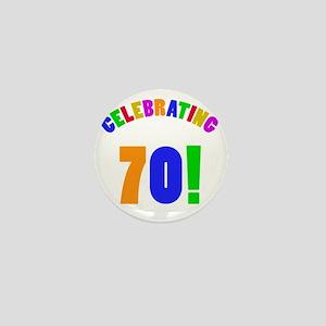 Rainbow 70 Mini Button