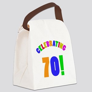 Rainbow 70 Canvas Lunch Bag