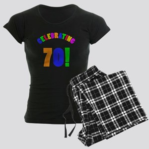 Rainbow 70 Women's Dark Pajamas