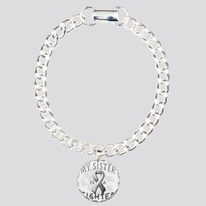 My Sister Is A Fighter G Charm Bracelet, One Charm