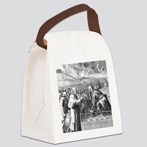 coffers_black Canvas Lunch Bag