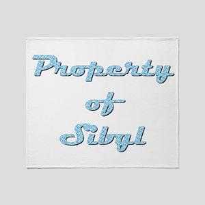 Property Of Sibyl Female Throw Blanket