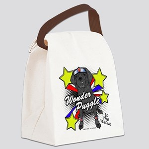 Wonder Puggle Canvas Lunch Bag