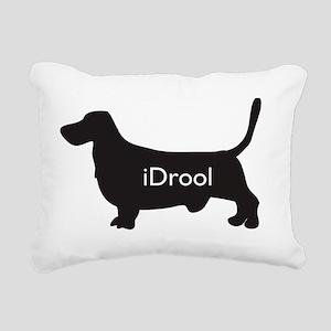 hound.idrool Rectangular Canvas Pillow