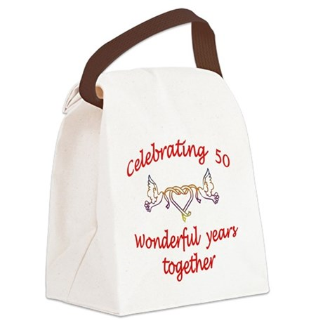 celebrating 50 years Canvas Lunch Bag
