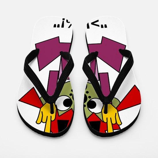 Crazy Flip Flops