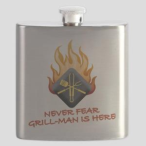 GM FEAR GRILL MAN Flask