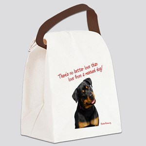 theres_no_better_love_red-white12 Canvas Lunch Bag