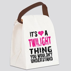 Twilight Thing v2 Canvas Lunch Bag