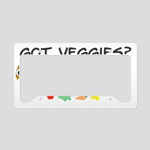 veggies License Plate Holder