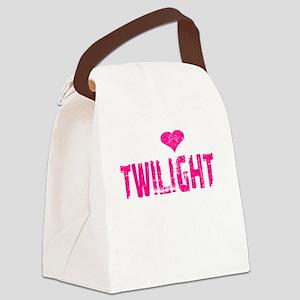 Twilight Thing v2 dk Canvas Lunch Bag