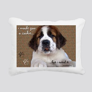 stbernardimadeyouacookie Rectangular Canvas Pillow
