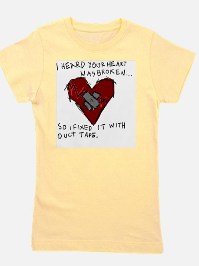 Good Broken Heart Girl's Tee