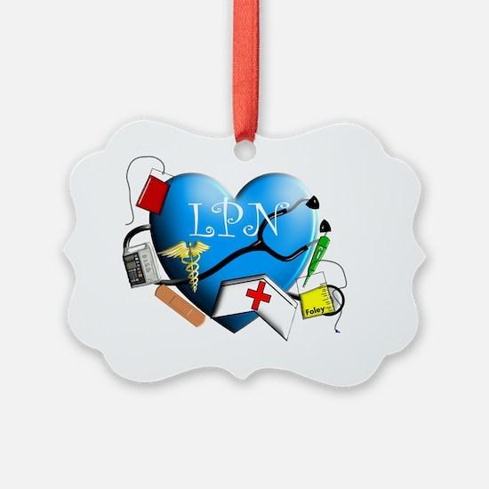 LPN Art poster Ornament