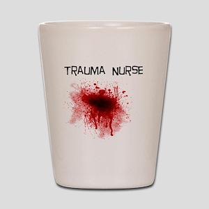 Trauma Nurse Shot Glass