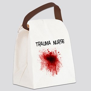 Trauma Nurse Canvas Lunch Bag