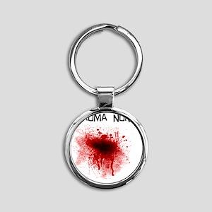 Trauma Nurse Round Keychain