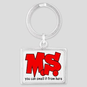 MS Landscape Keychain