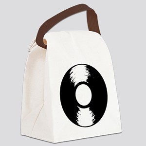 Vinyl Canvas Lunch Bag