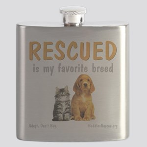 rescued_is_my_favorite_breed_3-trans Flask