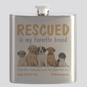 rescued_is_my_favorite_breed_4-trans Flask