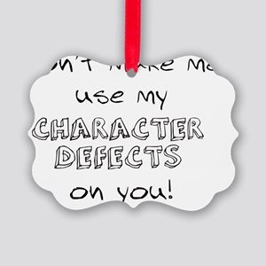 character defects Picture Ornament