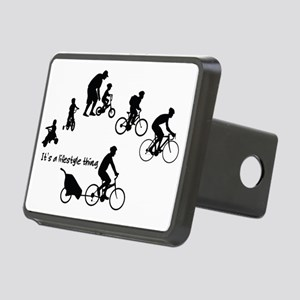 Thru the Ages Cycling Desi Rectangular Hitch Cover