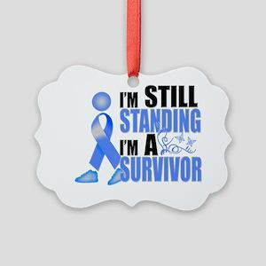 2-Still Colon Cancer Survivor Picture Ornament