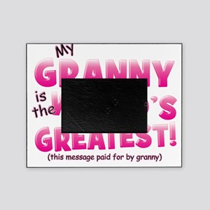 Worlds Greatest Granny pink Picture Frame