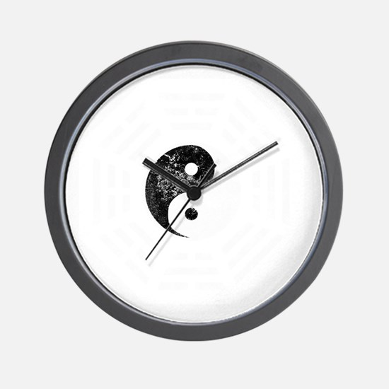 YinYang -dk Wall Clock