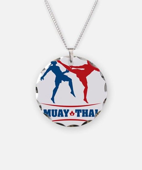 muay thai mma kickboxing mar Necklace