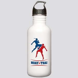 muay thai mma kickboxi Stainless Water Bottle 1.0L
