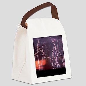 Lightening Canvas Lunch Bag
