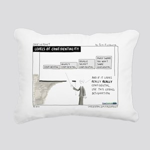 4/12/2010 - Levels of Co Rectangular Canvas Pillow