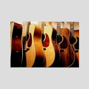 Guitars Rectangle Magnet