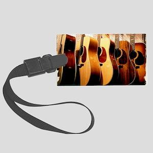 Guitars Large Luggage Tag